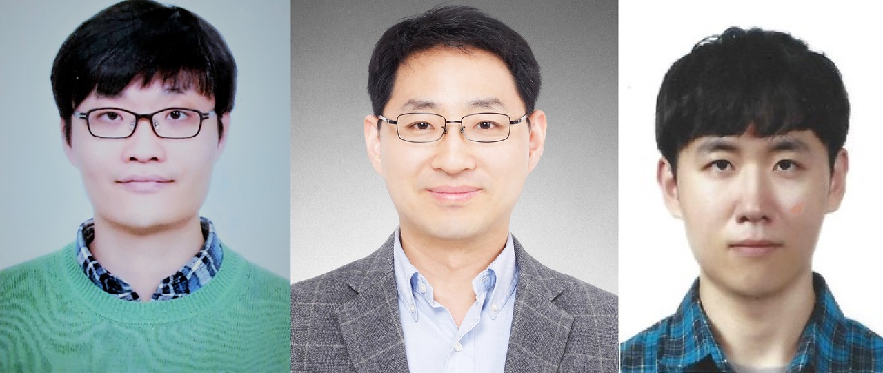 왼쪽부터 김세종 박사, 이승철 교수, 통합과정 나주원[사진=포스텍 제공]
